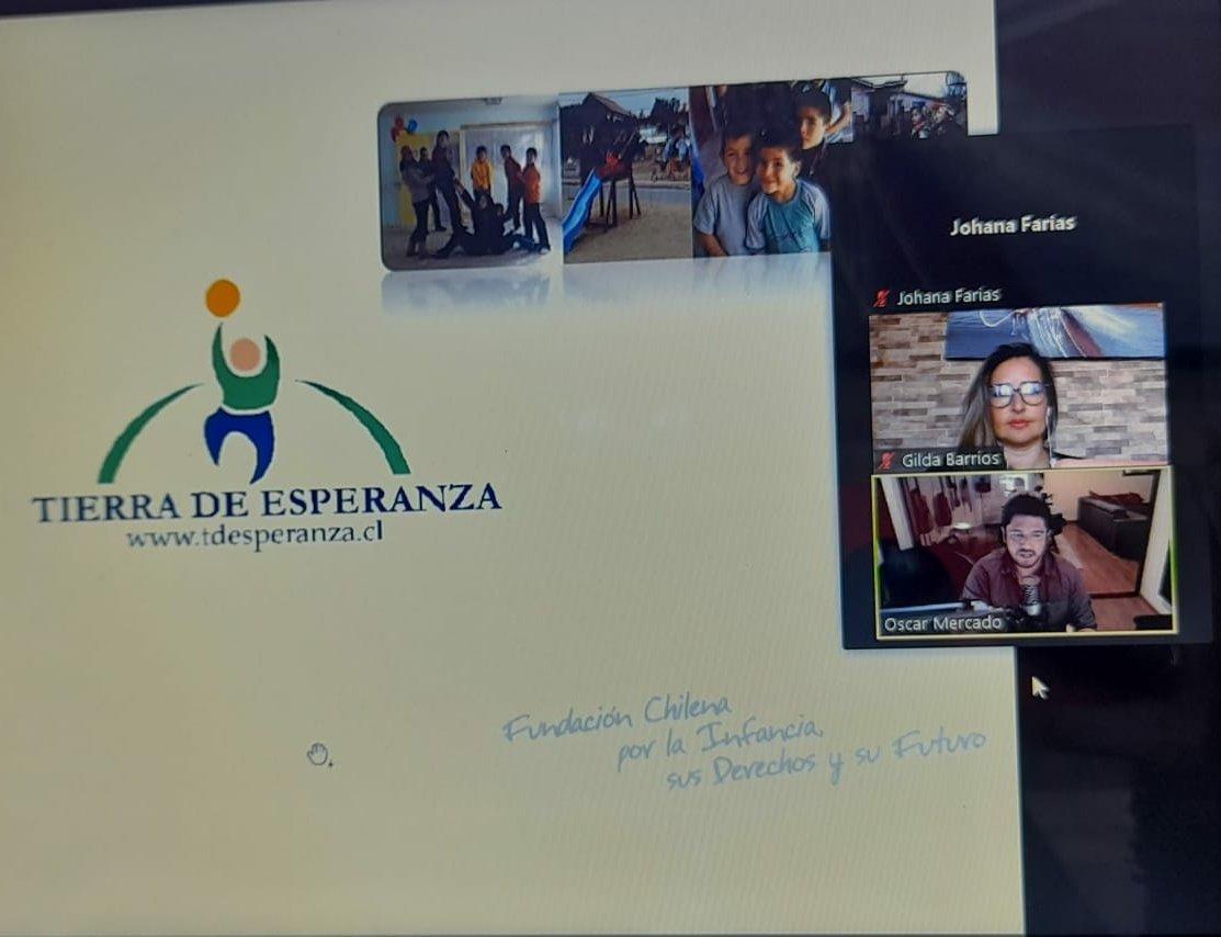 Fundación Tierra de Esperanza realizó capacitación en intervención especializada en niños, niñas y adolescentes que presentan conductas abusivas de carácter sexual