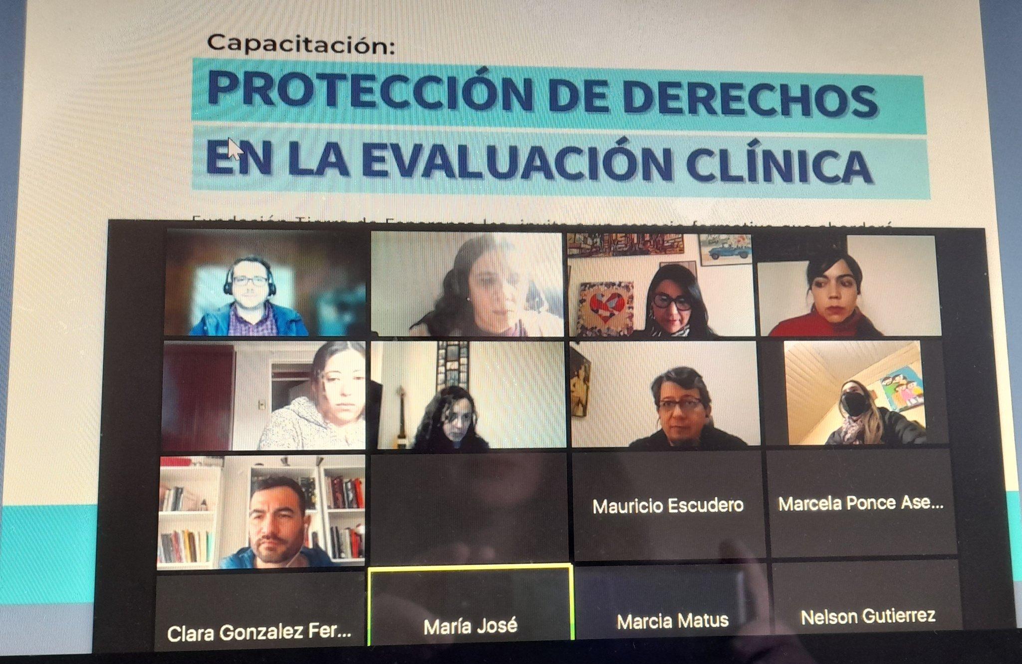 Fundación Tierra de Esperanza capacitó a profesionales de Tribunales de Tratamiento de Drogas
