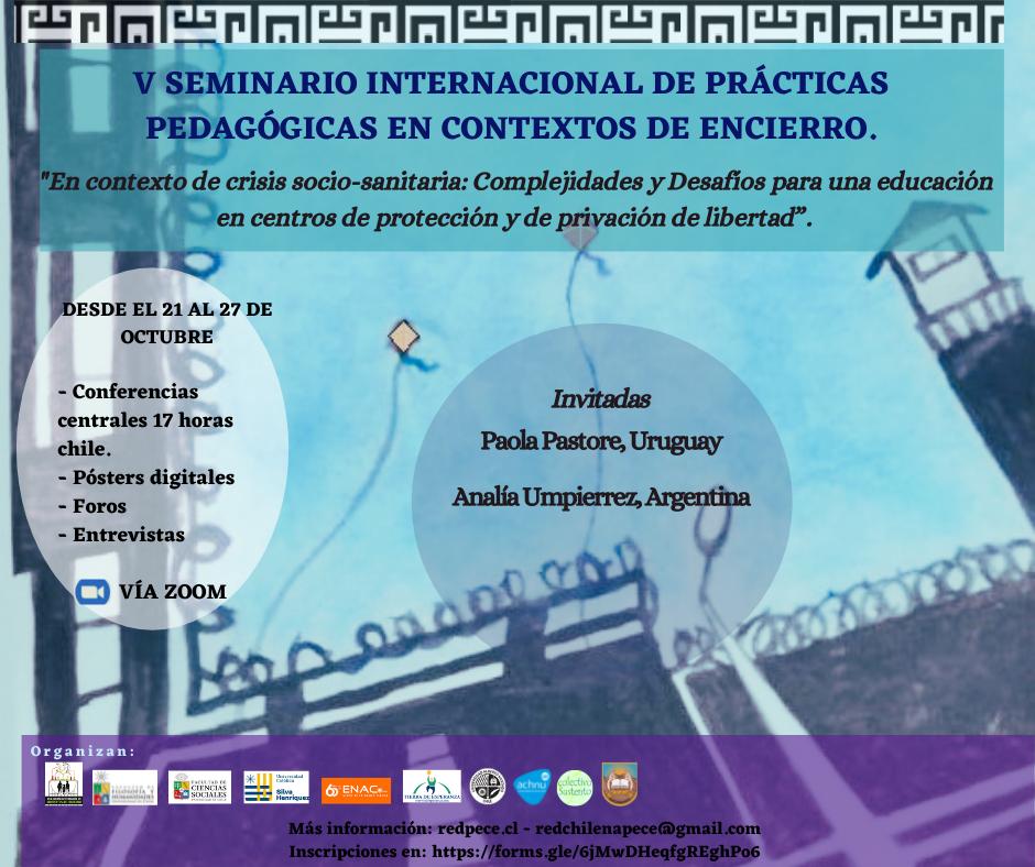 Fundación Tierra de Esperanza expondrá en el V Seminario Internacional de prácticas pedagógicas en contexto de encierro.